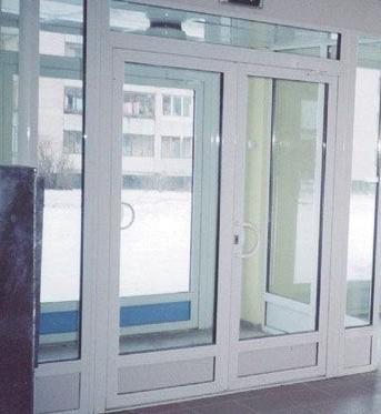 Пластиковые двери в Омске.