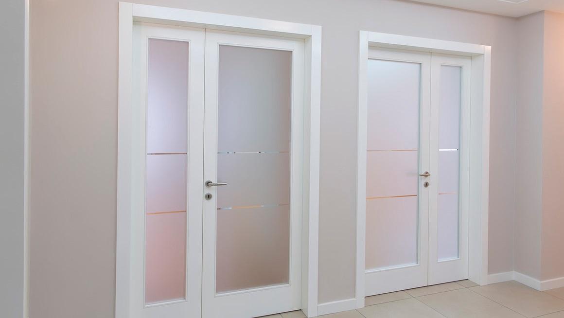 Пластиковые двери в омске