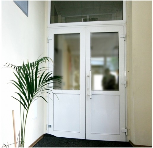 Пластиковые двери омск